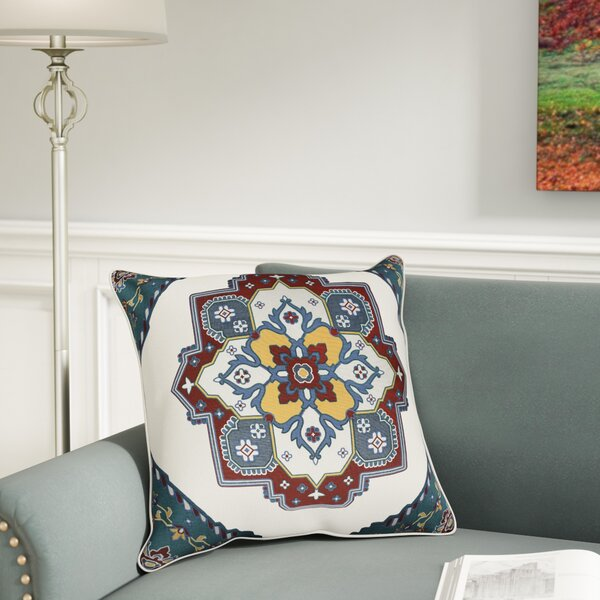 Brierwood 100% Cotton Pillow Cover by Charlton Home